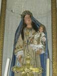 Statue of Mary, church of Resceto, Apuane