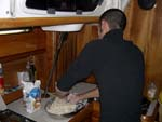 Making bread in the lowerdeck