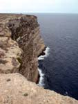 Lampedusa, cliffs of northern coast