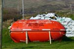canadian rescue boat, Kilkar, co. Donegal