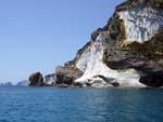 Lava on the coast of Ponza