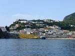 The harbour of Ponza