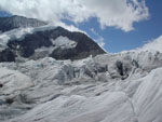 Flowers of ice, Aletsch Glacier