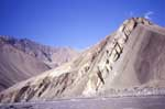 Ladakh; rocks on the Indus river