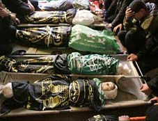 Children holocaust in Gaza