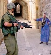 Israeli Soldier against Arabs