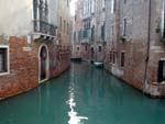 Venice, stream and old houses