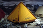 Turin, museum of mountain: the tent of K2 first ascension expedition, 1954