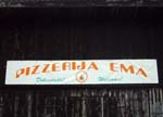 Pizzeria in slovenian