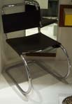 Tubular steel and leather chair, Mies Van der Rohe... 1927!