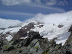 Monterosa's glaciers from Altaluce, Valdaosta